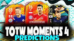 TOTW MOMENTS 4 PREDICTIONS | TEAM OF THE WEEK 30 PREDICTIONS | FT. Lewandowski, Son, Vardy