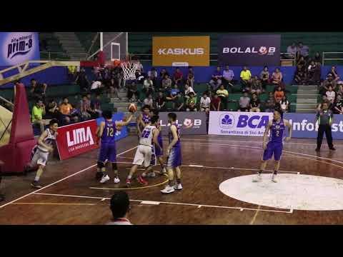 LIMA Liga Mahasiswa Basket 2017, UEU vs UPH, 28 Oktober 2017