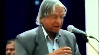 TRULY INSPIRATIONAL SPEECH OF ABDUL KALAM AT SRM UNIVERSITY