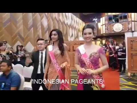 Cantiknya Astari Indah Vernideani Dengan Busana Kebaya di Prescon Miss Tourism International 2018 Mp3