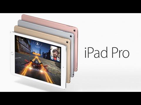 Презентация iPad Pro 2016 (9.7) на русском