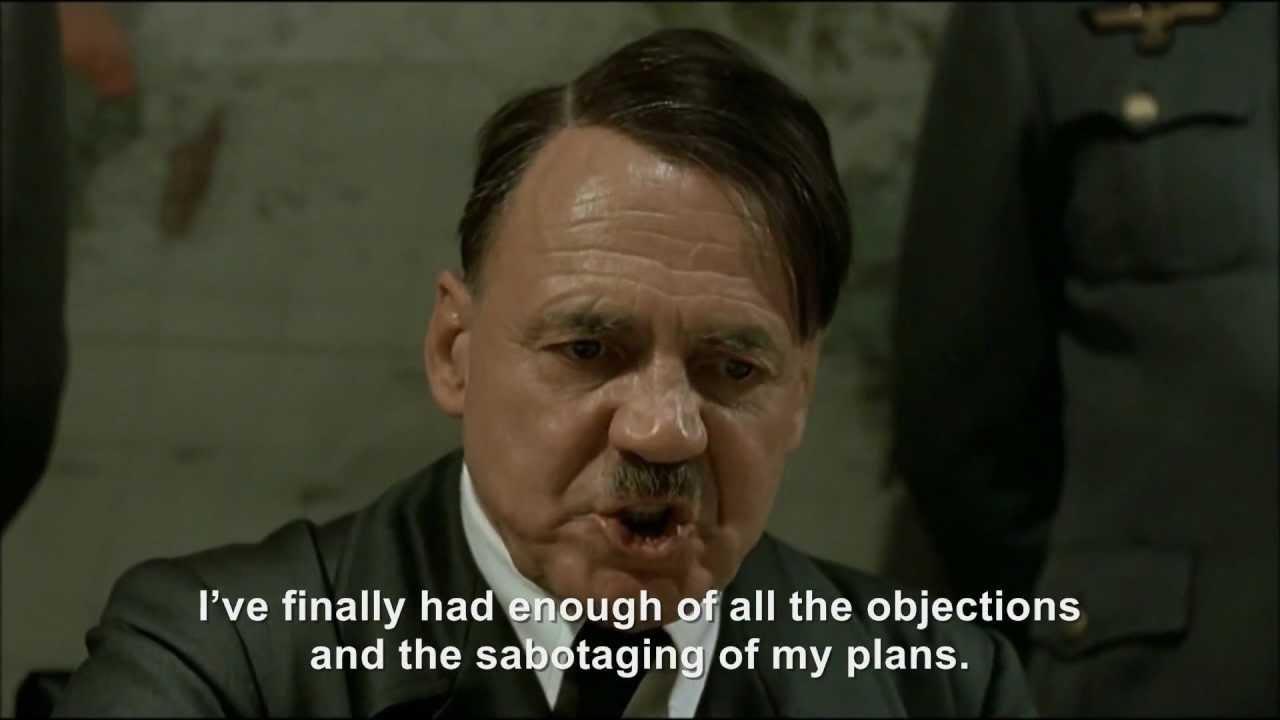 Hitler plans his final plan