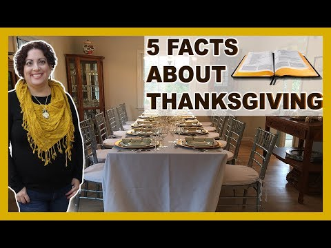 5 Facts About Thanksgiving in The Bible