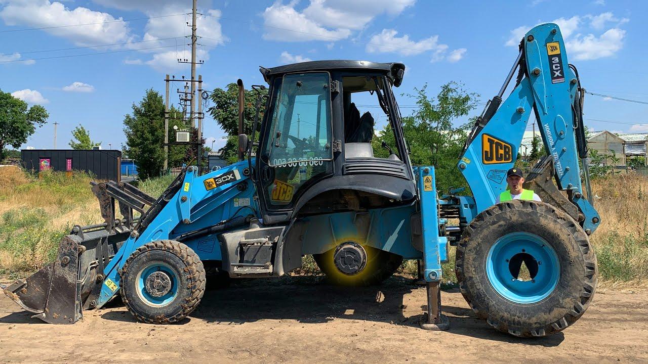 Відвалилося колесо - Великий синій Трактор зламався