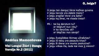 Watch Andrius Mamontovas O Jeigu video