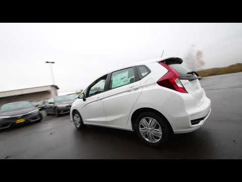 2018 Honda Fit LX w/Honda Sensing   White Orchid Pearl   JM715640   Seattle   Sumner  