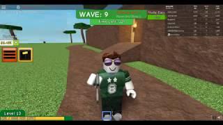 Zagrajmy w ROBLOX ataque zumbi # 1