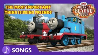 The Most Important Thing Is Being Friends | Journey Beyond Sodor | Thomas & Friends thumbnail