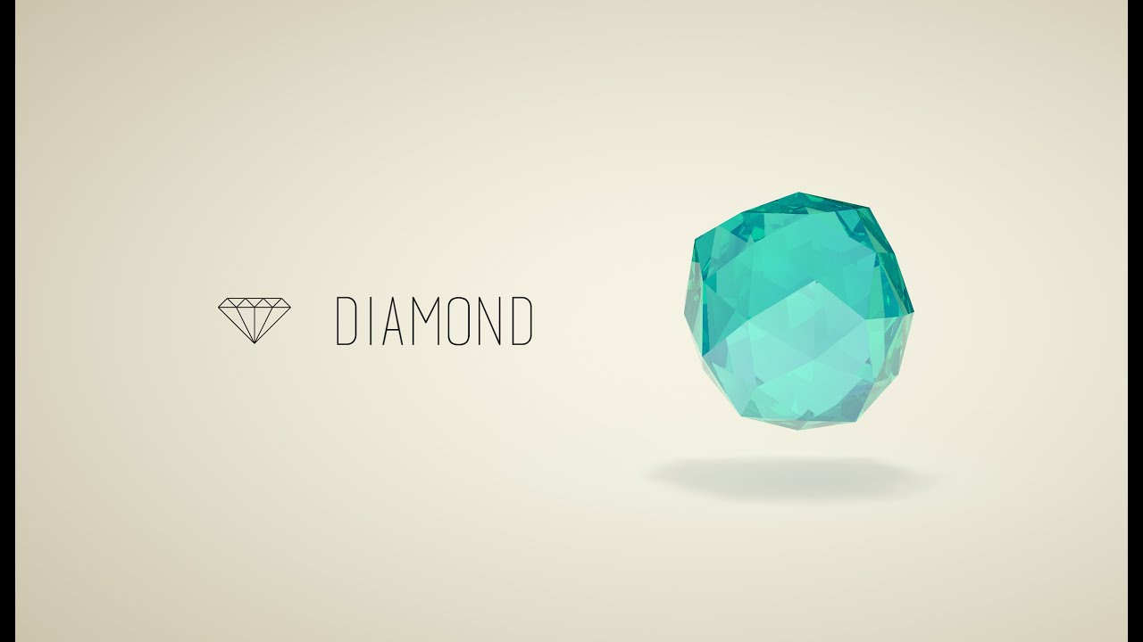 youtube icon diamond watch flat draw a tutorial polygon coreldraw