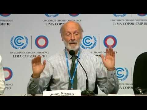 COP20: Global Arctic Methane Emergency #1 (12-4-2014 in Lima Peru)