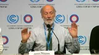 COP20: Global Arctic Methane Emergency #1 (12-4-2014 in Lima Peru)