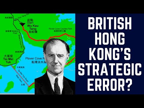 British Hong Kong's Strategic Error? About Hong Kong's Water Supply