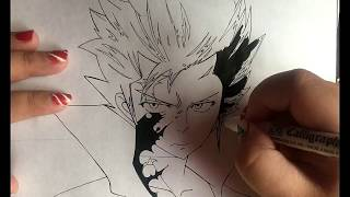 How to draw Gray  (Fairy Tail)