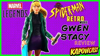 MARVEL LEGENDS SPIDER-MAN RETRO WAVE GWEN STACY REVIEW