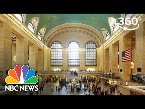 Hidden Secrets Of New York's Grand Central Terminal | 360 Video | NBC News
