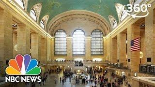 Hidden Secrets Of New York's Grand Central Terminal | 360 Video | NBC News