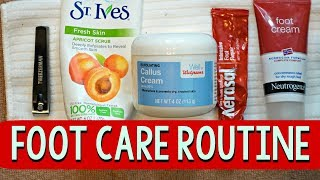 Foot care routine: budget friendly way to get rid of cracked heels 👣