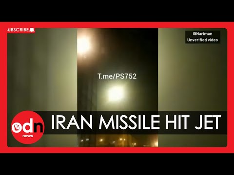 Iran Plane Crash: Moment Missile Hit the Ukrainian Jet
