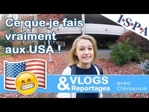 Mon programme aux USA - VLOG #2 - Clémence avec ISPA