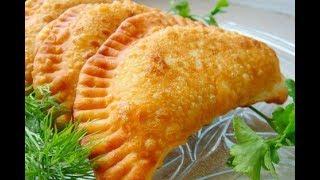 Чебуреки домашние самый вкусный рецепт, тесто заварное-быстро