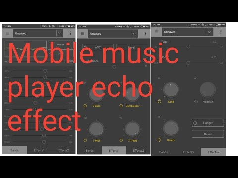 Best Mobile music player echo app