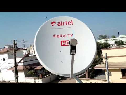 Airtel digital dish tv hd setting latest video