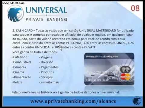 UNIVERSAL PRIVATE BANKING Apresentação Simplificada