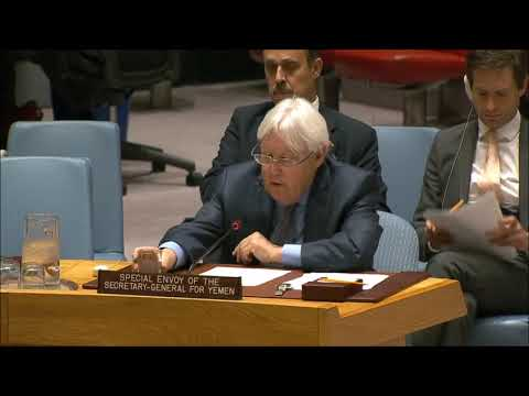 UNSC 8235th Meeting on Dire Humanitarian Crisis in YEMEN: 4/17/18 (English Statements Only).