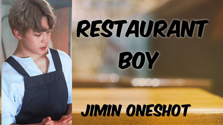 jimin ff oneshot   restaurant boy  13read the discription