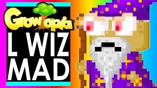MAD Legendary WIZ make Pcats KILL 100 GROWTOPIANS!
