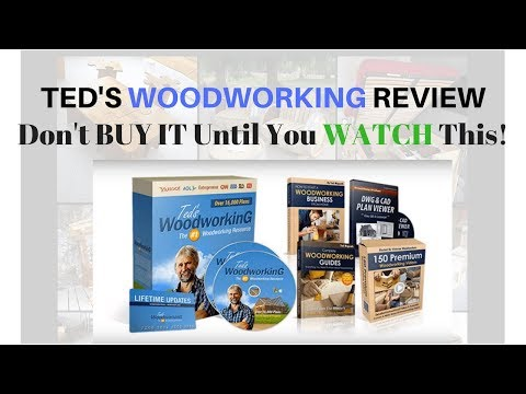 Ted's Woodworking Review - Don't Buy It Until You WATCH This!