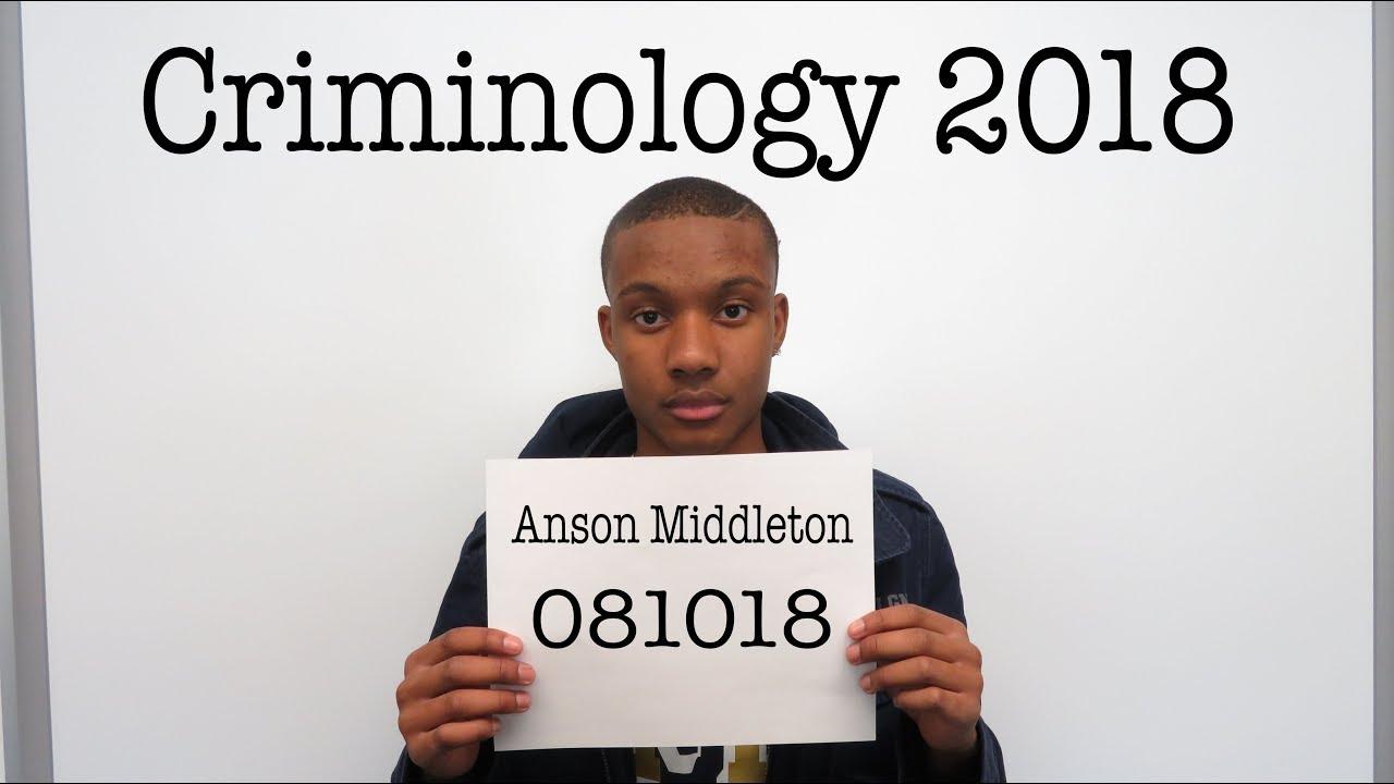 My Criminology Video
