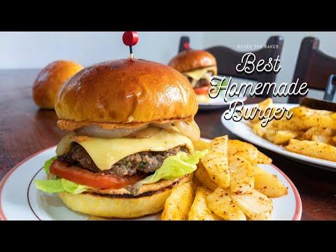 comment-préparer-de-delicieux-burgers-maison-!-best-homemade-burger-recipe-!