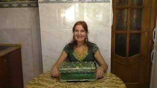 как сделать малахитовую шкатулку своими руками