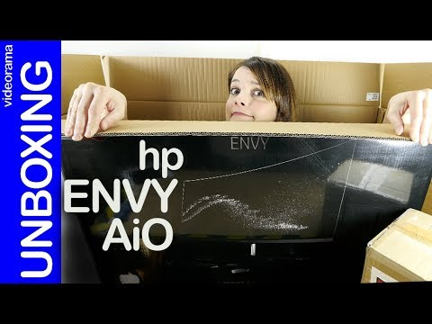 HP ENVY AiO curved unboxing -el increíble ordenador CURVADO-