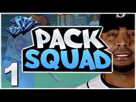MULTIPLE DIAMOND PULLS! GREAT START! MLB The Show 17 PACK SQUAD #1!