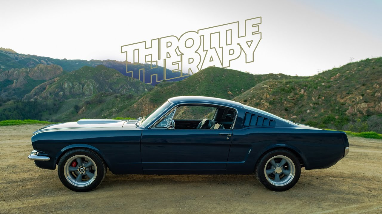 The wheelbase is the same on all three models. 1965 Mustang Fastback Throttle Therapy Petrolicious Youtube