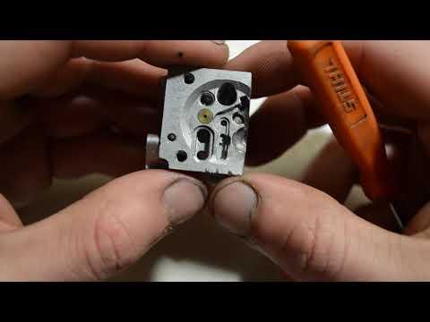 Как настроить карбюратор бензопилы Stihl Ms 170/180