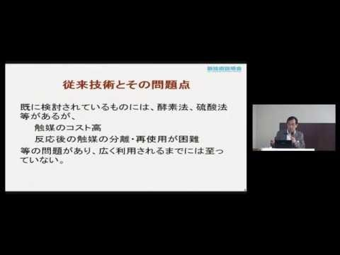炭素系触媒によるリグノセルロース分解 北海道大学 触媒科学研究所 教授 福岡淳