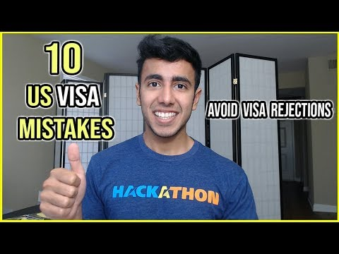 10 USA Visa Mistakes Resulting In Visa Rejections | Avoid Them