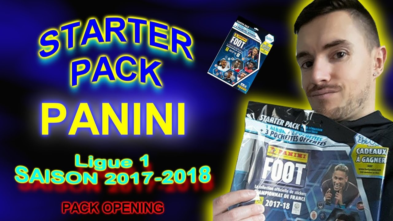 pack opening carte panini foot championnat de france ligue 1 conforama pack starter youtube