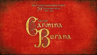 Carmina Burana - for two pianos and percussion - Carl Orff