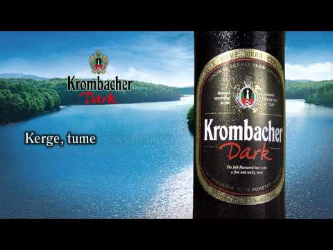 Krombacher Dark Estonia TV