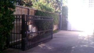 "River Oaks Gate And ""viking G5"" Gate Opener By Fresno Fence."