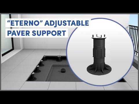 Eterno adjustable support | Pedestal