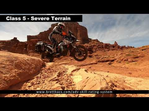 Class 5 Severe terrain examples
