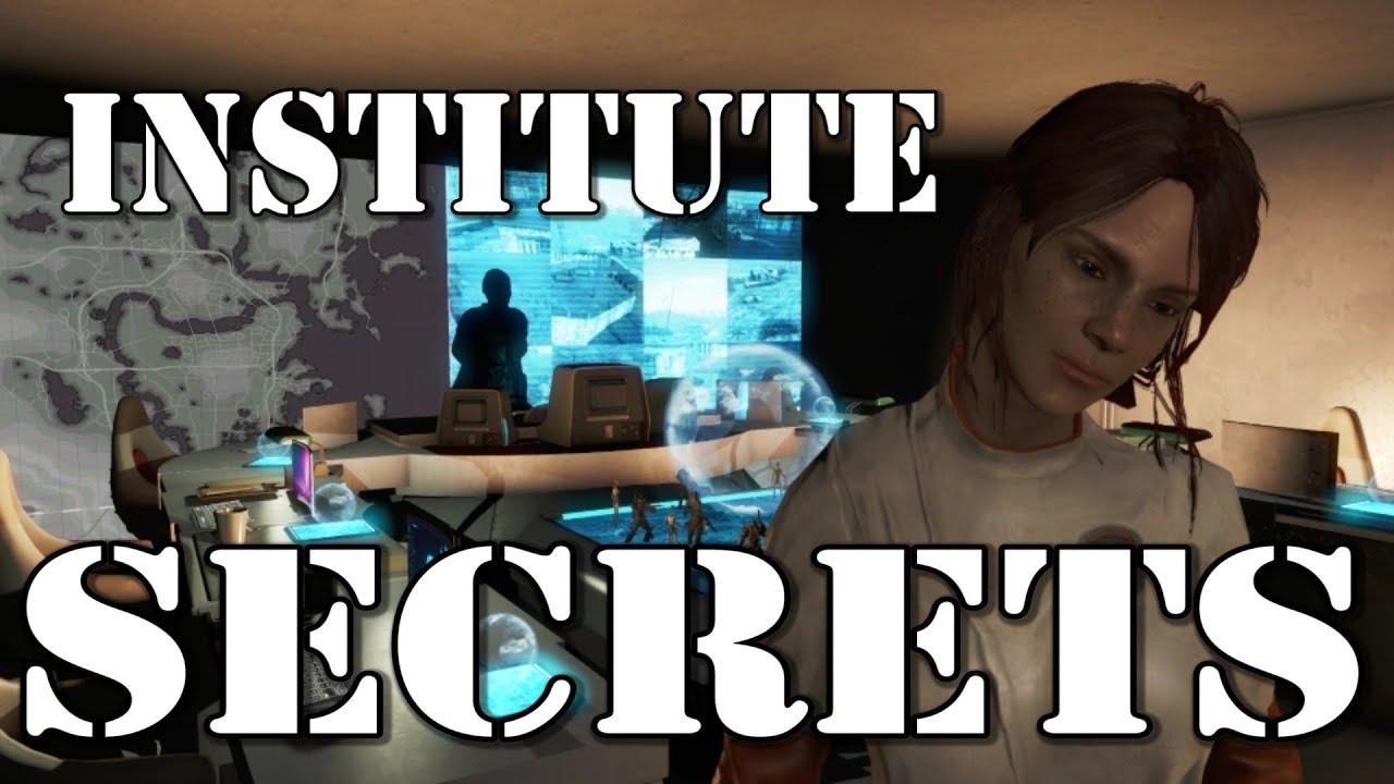 Institute Secrets Fallout 4