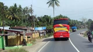 Konvoi Bus Halmahera dari Simpang Kawat