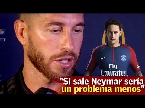 """Ramos sobre la salida de Neymar: """"Sería un problema menos""""   Diario AS"""