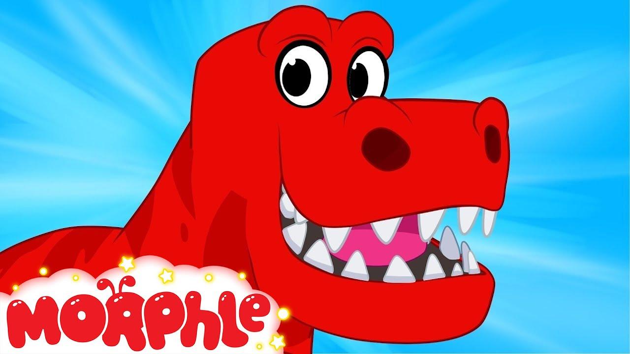 My Pet T-rex - ( Dinosaurs cartoons for children ) My Magic Pet Morphle